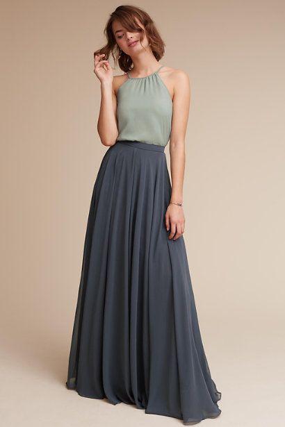 Hunter Top & Hampton Skirt in Bridesmaids Bridesmaid Dresses   BHLDN