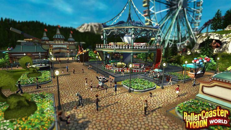 RollerCoaster Tycoon World Screenshots Surface   Entertainment Buddha
