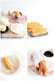 Foodagraphy. By Chelle.: Churros and chocolate