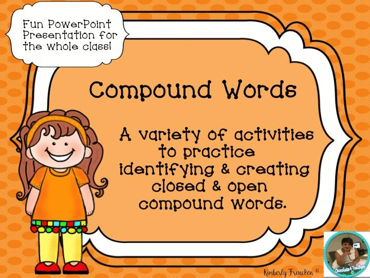 Fun, engaging activities to help your students learn more about closed and open compounds.