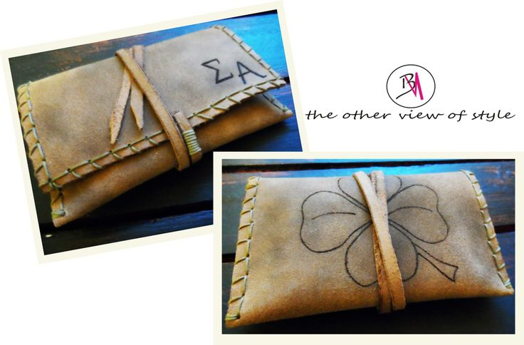 Leather Cases for tobacco ❥