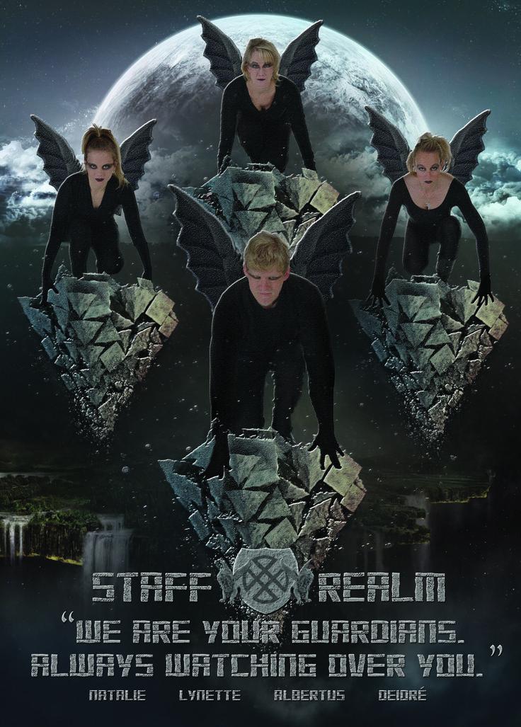 Staff Leader Page - Fantasy Theme