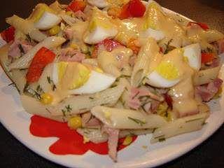 Salata de paste cu oua, Poza 2
