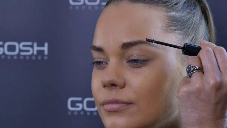 The secret to perfect brows is revealed by our global MUA sidselsmarieboeg_untoldsecretz.#GOSHCOPENHAGEN #MAKEYOURIMPRESSION #GOSHAW16 #BEAUTIFULYOU