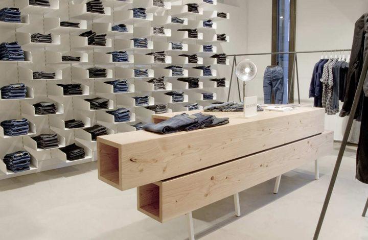 Retail Design | Shop Design | Fashion Store Interior Fashion Shops | Won Hundred. Simple and modular