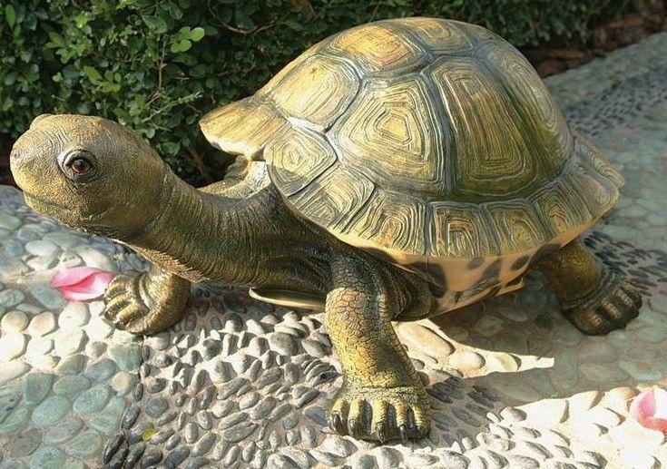The Tranquil Tortoise Large Design Toscano Home Garden Turtle Outdoor Statue #DesignToscanoExclusive