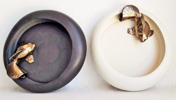 KOI CURVE BOWL: Rialheim ceramics. Decor, servewear