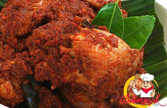 Resep Rendang Ayam Rendang Ayam Tanpa Santan Club Masak Resep Masakan Pedas Resep Makanan India Resep Masakan Malaysia