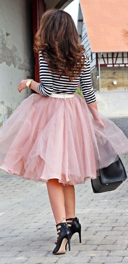 Street Style I Tulle & Stripes