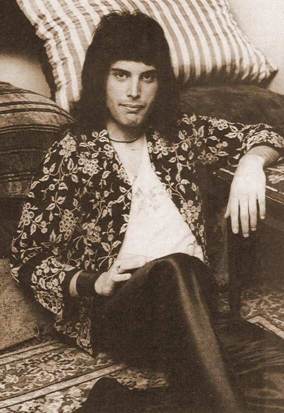 young Freddie ... years of great music ahead of him...