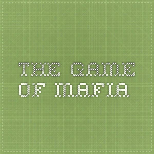 The Game of Mafia