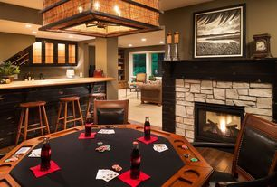 """""""View this Great Eclectic Game Room with Hardwood floors & Columns in North Oaks, MN. The home was built in 2014 and is 4009 square feet. Discover & browse thousands of other home design ideas on Zillow Digs."""""""