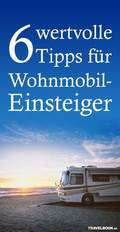 Worauf muss man beim Mieten von Van & Co. eigentlich achten? TRAVELBOOK beantwortet sechs typische Anfänger-Fragen: http://www.travelbook.de/service/Mieten-Packen-Fahren-6-Tipps-fuer-Wohnmobil-Einsteiger-605882.html