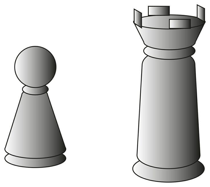 pedone e torre