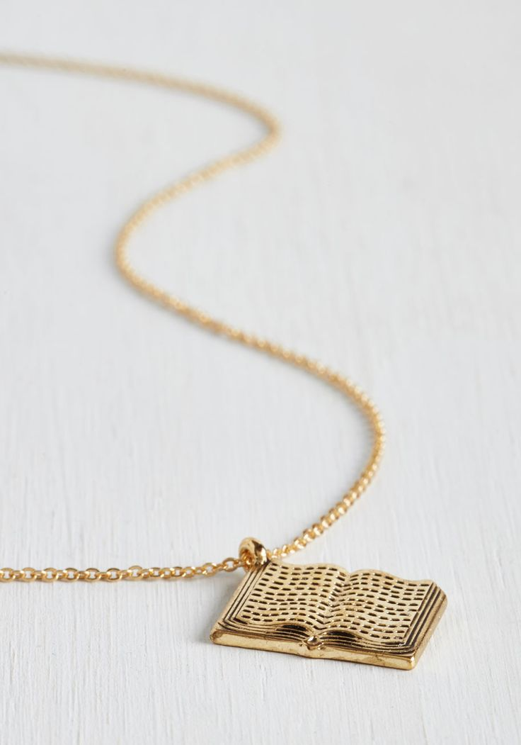 Be an open book—this necklace is! http://writersrelief.com/