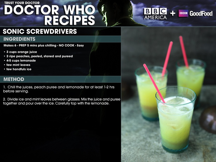 "Captain Jack Harkness: Who looks at a screwdriver and thinks, ""Ooh, this could be a little more sonic""? The Doctor: What, you've never been bored?"