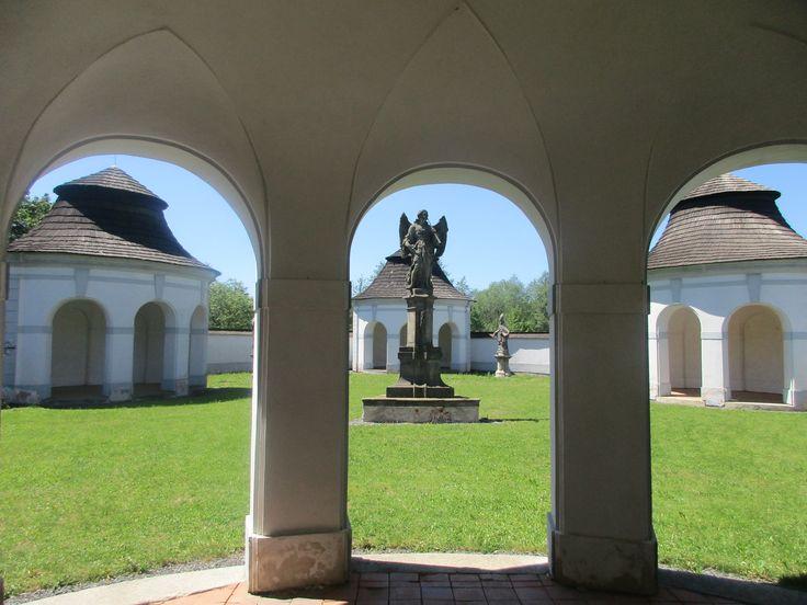 Socha anděla na hřbitově - Žďár nad Sázavou - kraj Vysočina - Česko