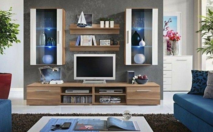 Vous voulez vous procurer un joli meuble TV. Voilà à votre attention quelques suggestions pour fabriquer un meuble tv original