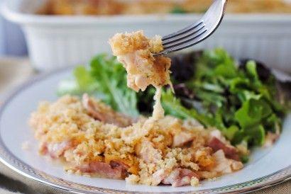 Chicken Cordon Bleu Casserole   Tasty Kitchen Blog