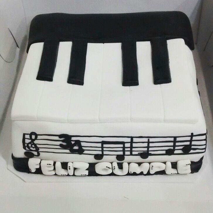 Cake piano temática