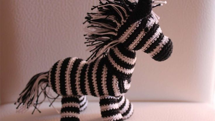 How To Crochet A Cute Toy Zebra - DIY Crafts Tutorial - Guidecentral