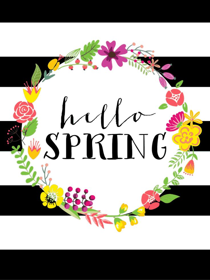 spring printable