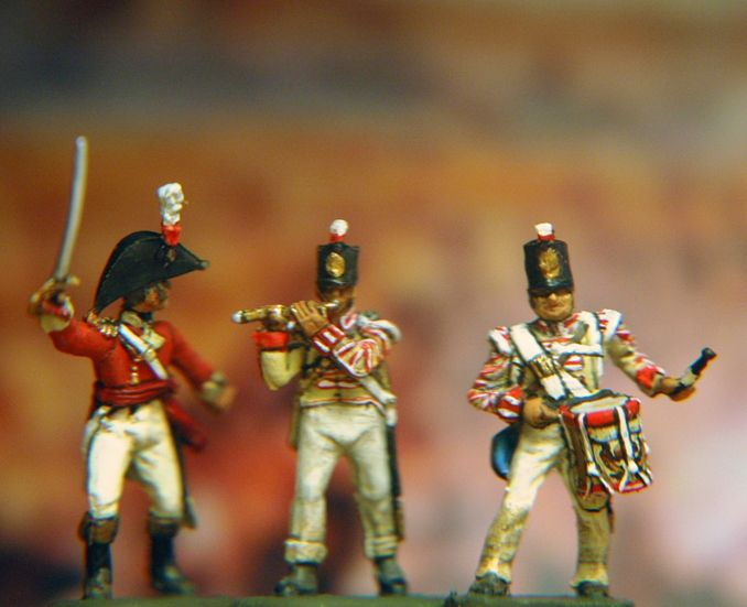 British Line infantry Peninsula Hat Miniatures and Airfix conversion