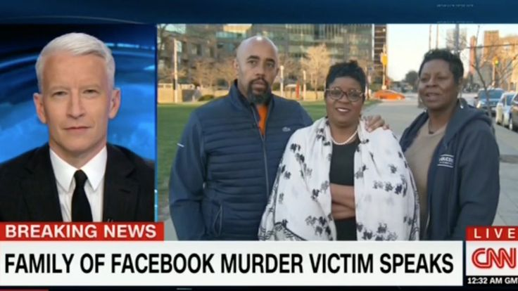 Family of man murdered in Facebook video shows incredible profession of faith on CNN