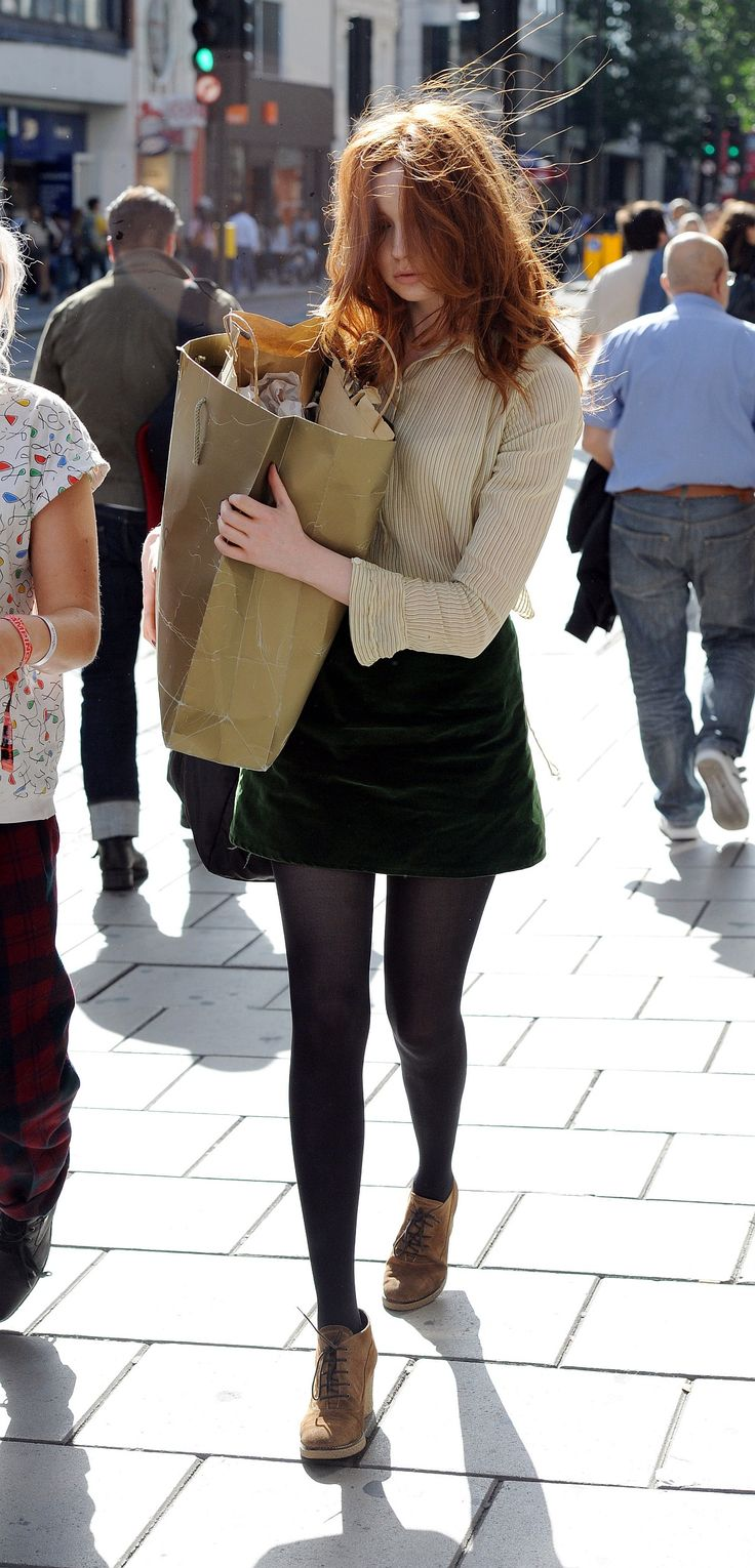 Love her style! Well... except for the fact she wears TONS of mini skirts.