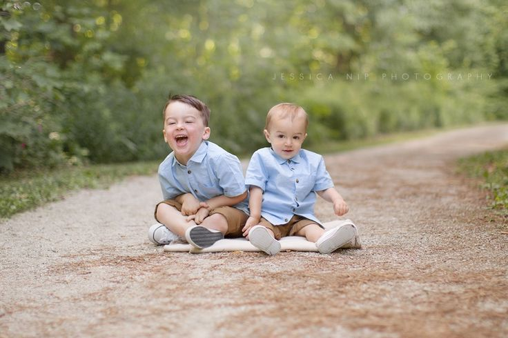 Pale blues and khakis for boys