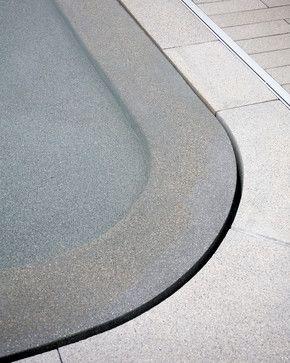 Cool pool edge
