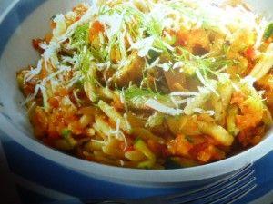 malloreddus - con verdure e finocchietto