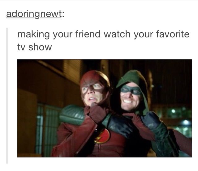 Can I just say I extra relate to this post because my favourite TV show is the flash-nadeen