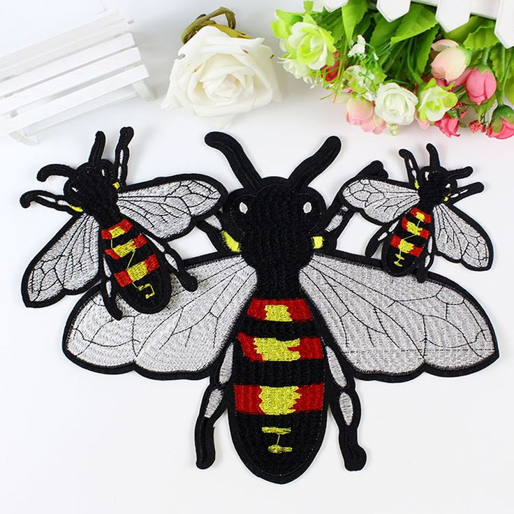 Cheap designer patches, Buy Quality patch design directly from China parches ropa Suppliers:   DIY Cute Design Sequins High-quality Embroidery Bees Combination Patch  Parches Ropa Scrapbooking For Patch Para La Ropa