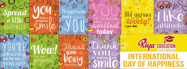 International Day of Happiness !!!