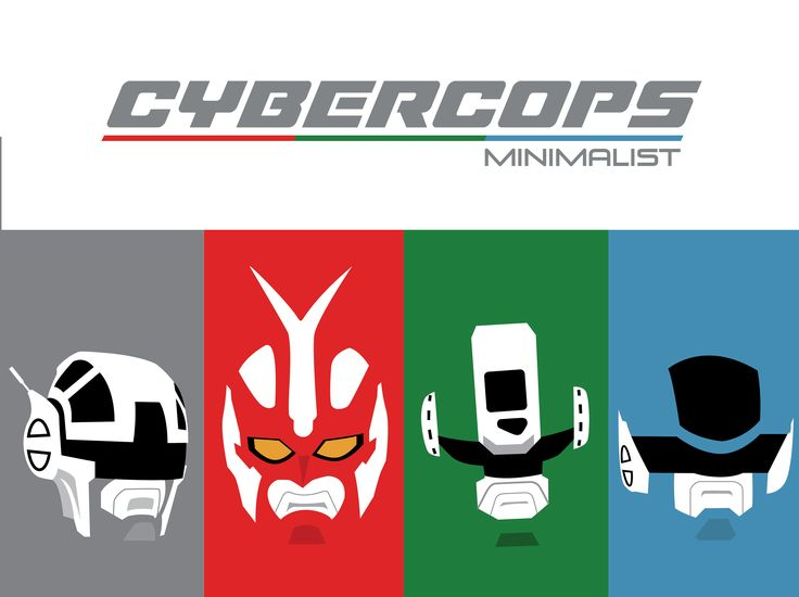 Cybercops - MInimalist - Cover Portfolio Art