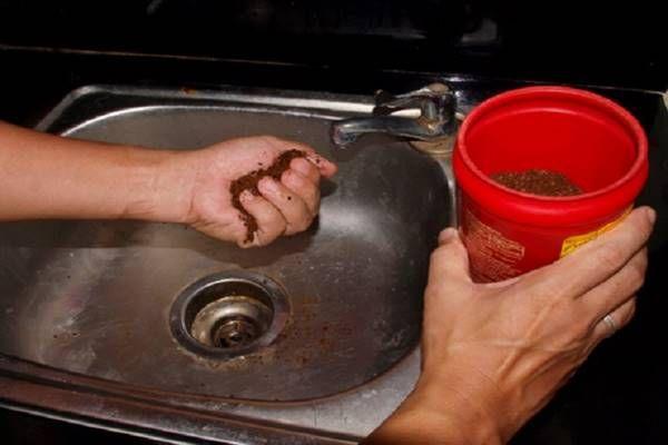 Kávézaccot szórt a mosogatóba, amikor megtudtuk miért, azonnal kipróbáltuk mi is! - Tudasfaja.com