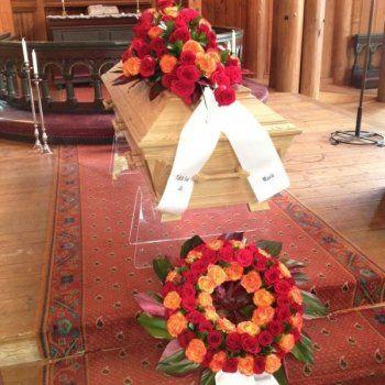 Combine - Coffin decoration & Wreath (or Heart)