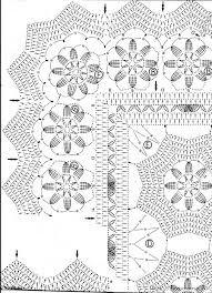 Znalezione obrazy dla zapytania wzory na obrus szydełkowy