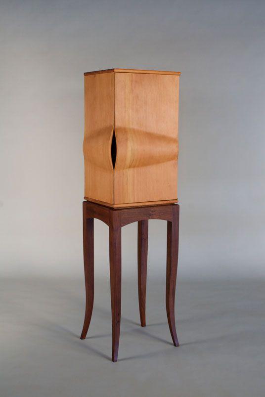 Doug Fir Cabinet - Daniel Rickey   Originial Furniture, Collaboration, & Production