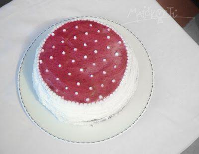 dort s malinami a mascarpone / cake with raspberries and mascarpone