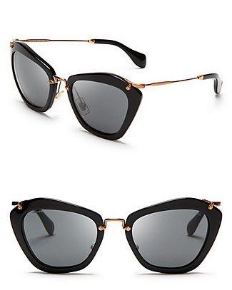 Miu Miu Catwalk Sunglasses   Bloomingdale's