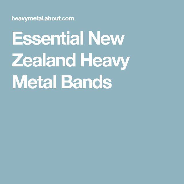 Essential New Zealand Heavy Metal Bands