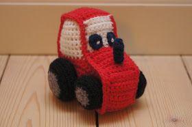 For noget tid siden satte jeg mig for, at lave en miniudgave af den traktor-bamse, som du finder opskriften på her .   Det projekt er nu n...