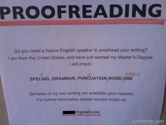 Best Editing Proofreading Images On Pinterest Creative - 18 proofreading fails