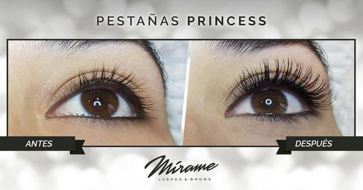 Extensiones de Pestañas naturales de pelo de Visón Princess miramexxl.com