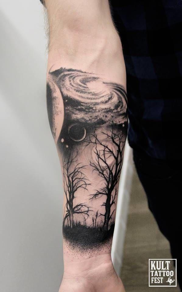 Galexy Girl Swinging Tattoo: 603 Best Tree Tattoos Images On Pinterest