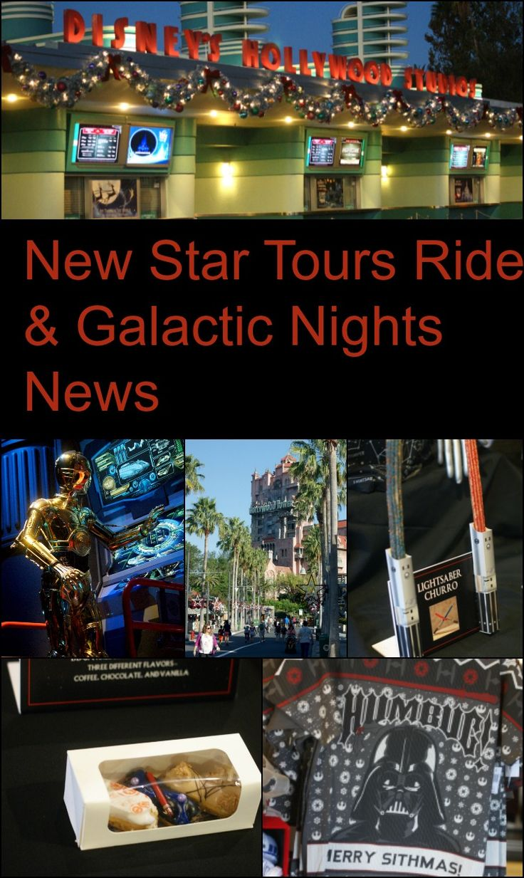 This week I had a special opportunity to spend some time at Disney's Hollywood Studios and learn about the new Star Tours ride experience. I was able to ride the new ride and get some amazing information for you about Galactic Nights! I am going to share a mostly spoiler free review of the new …