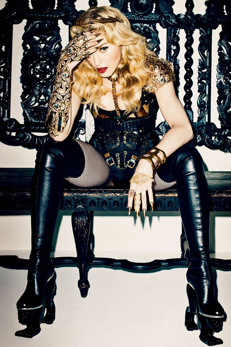 Madonna's Fashion Shoot for October 2013