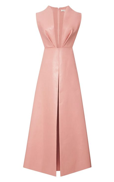 Leather Pinafore With Pant Skirt by DELPOZO - Moda Operandi